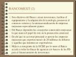 bancomext 2