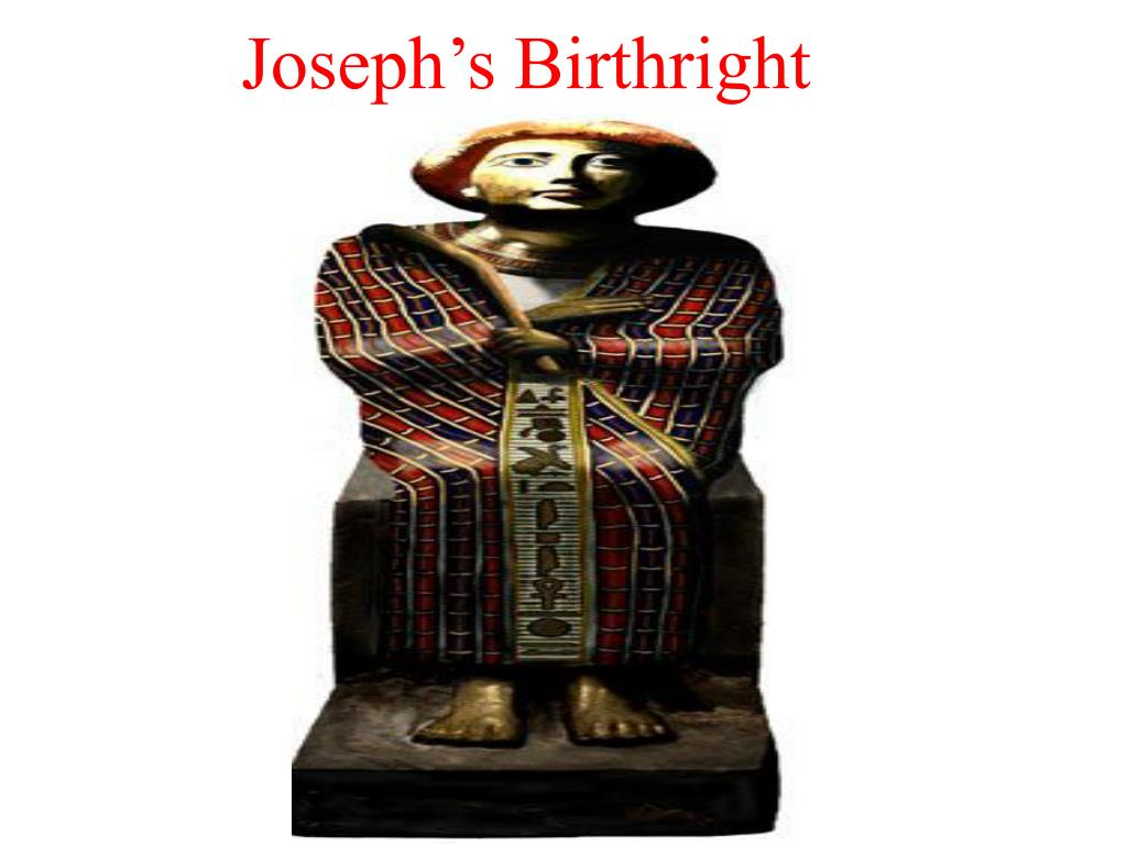 Joseph's Birthright