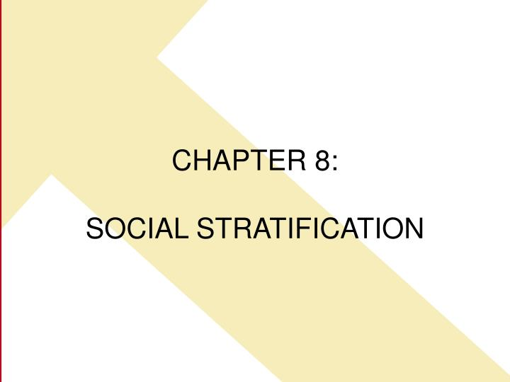 chapter 8 social stratification n.