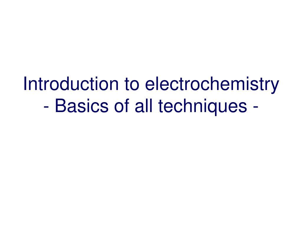 Unit –iv electrochemistry  authorstream.