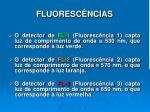 fluoresc ncias