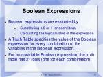 boolean expressions2