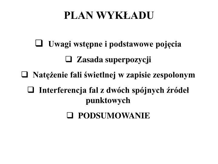 Plan wyk adu