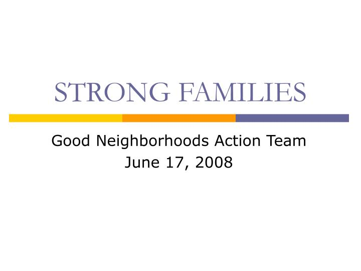 strong families n.