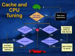 cache and cpu tuning