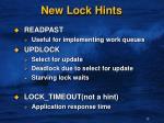 new lock hints1