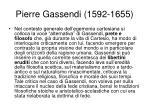 pierre gassendi 1592 1655