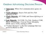 outdoor advertising decision process