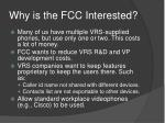 why is the fcc interested