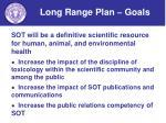 long range plan goals4