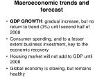 macroeconomic trends and forecast