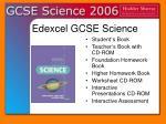 edexcel gcse science8