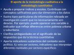 el aporte de la metodolog a cualitativa a la metodolog a cuantitativa1