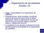 organizaci n de los sistemas fiscales 3