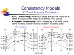 consistency models fifo and processor consistency