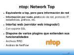 ntop network top