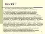 proces ii3
