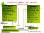 europ ischer pr sident und europ ischer au enminister