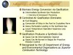 advantages of biomass gasification