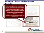 potential drivers of real estate growth4