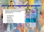 por qu es importante el genoma