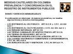 medidas cautelares en colombia prevalencia y concordancia en el registro de instrumentos publicos3