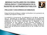 medidas cautelares en colombia prevalencia y concordancia en el registro de instrumentos publicos5