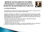 medidas cautelares en colombia prevalencia y concordancia en el registro de instrumentos publicos7