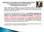medidas cautelares en colombia prevalencia y concordancia en el registro de instrumentos publicos8
