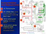 instrumentation and measurements
