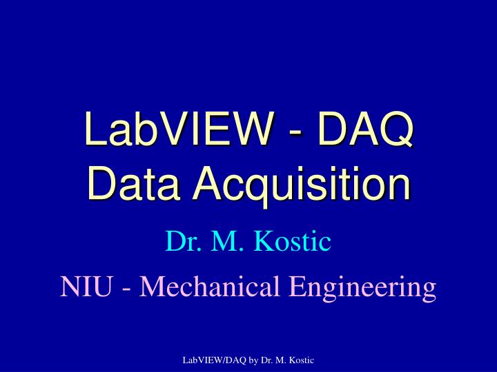 labview daq data acquisition n.