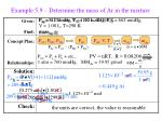 example 5 9 determine the mass of ar in the mixture