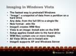 imaging in windows vista