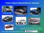 future plug in hybrid electric vehicles