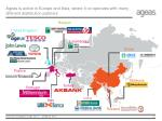 ageas is active in europe and asia where it co operates with many different distribution partners
