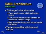 icmb architecture arbitration