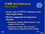 icmb architecture data integrity