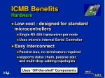 icmb benefits hardware14