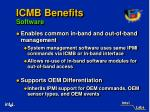 icmb benefits software11