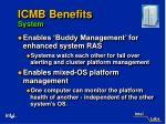 icmb benefits system