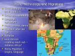 culture technology and migrations