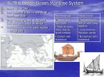 ii the indian ocean maritime system