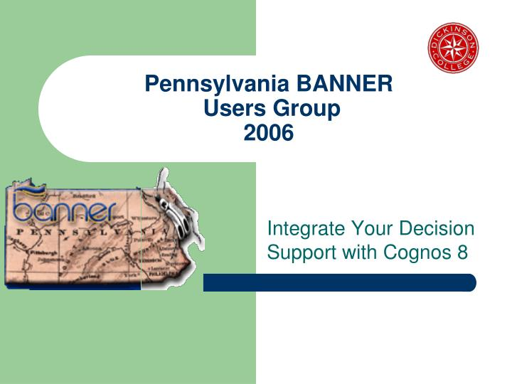 pennsylvania banner users group 2006 n.