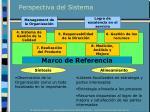 perspectiva del sistema
