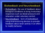 biofeedback and neurofeedback