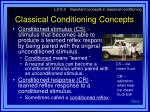 classical conditioning concepts1