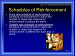 schedules of reinforcement1
