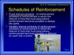 schedules of reinforcement2
