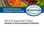 epa the supermarket industry partners in environmental protection