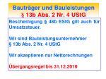 bautr ger und bauleistungen 13b abs 2 nr 4 ustg1